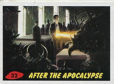 Mars Attacks Invasion Heritage Parallel Base Card #32