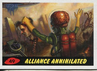Mars Attacks Invasion Heritage Parallel Base Card #49