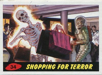 Mars Attacks Invasion Heritage Parallel Base Card #34