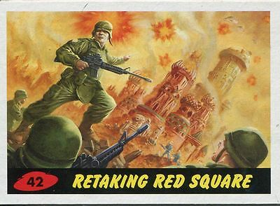 Mars Attacks Invasion Heritage Parallel Base Card #42