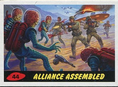 Mars Attacks Invasion Heritage Parallel Base Card #44