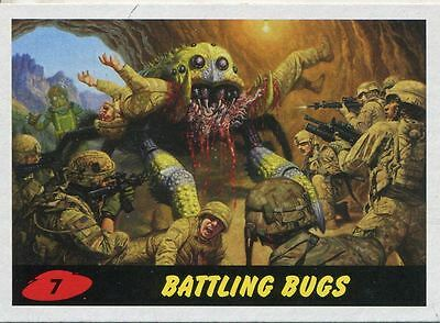 Mars Attacks Invasion Heritage Parallel Base Card #7