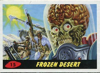 Mars Attacks Invasion Heritage Parallel Base Card #15