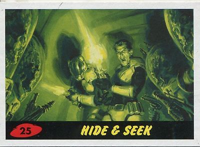 Mars Attacks Invasion Heritage Parallel Base Card #25