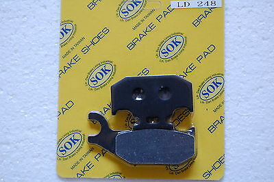 REAR BRAKE PADS fit BOMBARDIER Quest 500 650 2002-2006