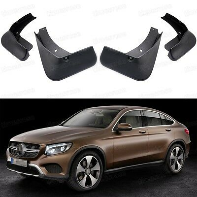 Car mud flaps fender mudguard splash guard new for for Mercedes benz ml350 mud flaps