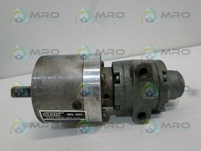 Gast 1Up-Nrv-11-Gr11 Air Motor With Reduction Drive *used*