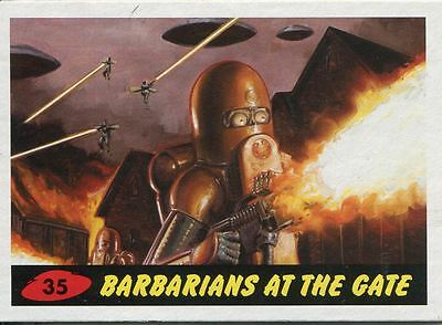 Mars Attacks Invasion Heritage Parallel Base Card #35
