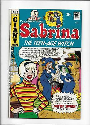 """Sabrina The Teen-Age Witch #6 [1972 Fn-] """"witch Switch"""""""