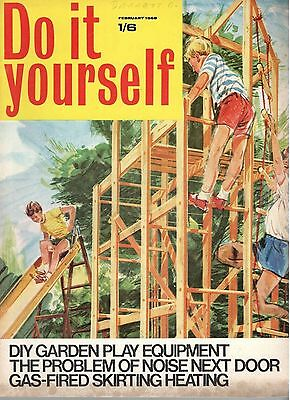 1968 FEBRUARY 37837 Do it yourself Magazine  GAS FIRED SKIRTING HEATING