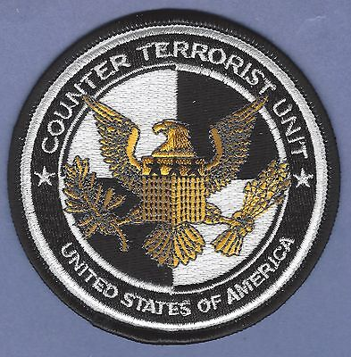 United States Counter Terrorist Unit Police Patch