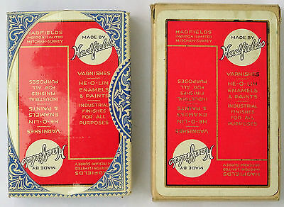 Vintage Pack of Hadfields Playing Cards (Cards Sealed in Original Cellophane)