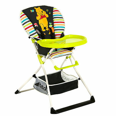 New Hauck Disney Pooh Tidy Time Mac Baby Folding Highchair Feeding High Chair