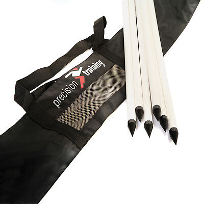 """Precision Training Corner Post Carry Bag Holds 8 x 1"""" or 4 x 2"""" Posts rrp£12"""