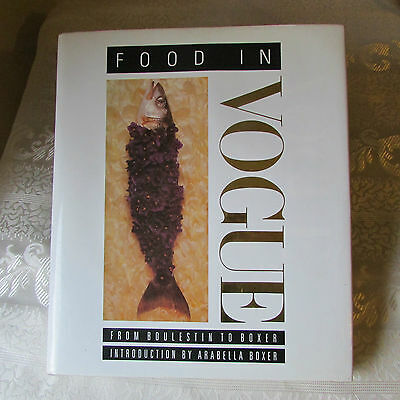 Food In Vogue 192P. From Boulestin To Boxer/arabella/couverture Rigide/vintage
