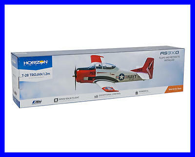 Eflite T-28 T28 1.2m BNF Basic RC Airplane EFL8350 With Free 2200mah Battery