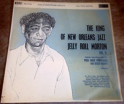 JELLY ROLL MORTON king of new orleans jazz vol.2 UK RCA MONO 1961 VINYL LP