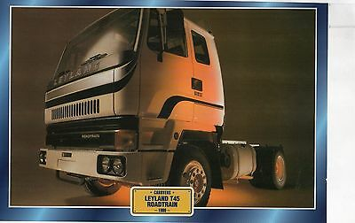 LEYLAND T45   ROADTRAIN                 Glossy   Picture (T749)