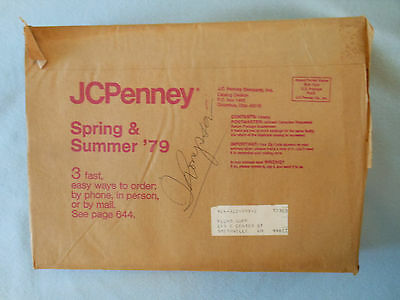 vintage catalog JCPENNEY JC PENNEY PENNEYS 1979 spring summer SLEEVE