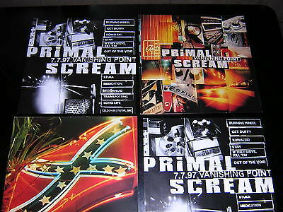 2 Primal Scream  Album Sleeves - + 2 Promtional Paper 12X12's