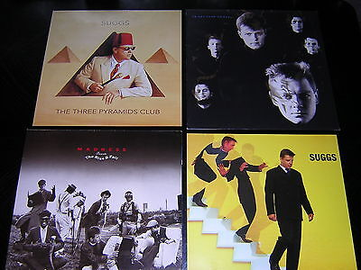 2 Madness  Album Sleeves - + 2 Suggs Promotional 12X12 Cards
