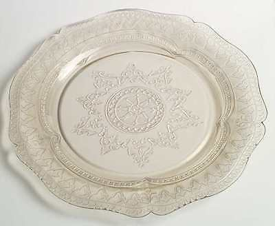 Federal Glass Company PATRICIAN AMBER Dinner Plate 124547
