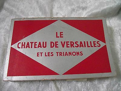 Vintage SOUVENIR POSTCARDS OF VERSAILLES