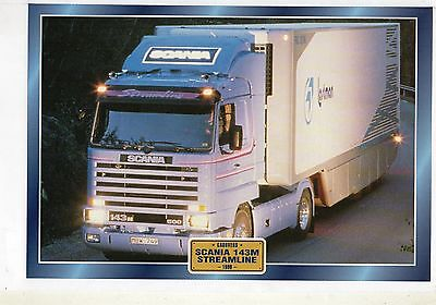 SCANIA   143M STREAMLINE                       Glossy   Picture (T833)