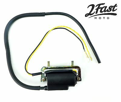 Honda 6 Volt 6V Ignition Coil Dual Lead Single Output C105T CA200 CT200 CT90 NEW