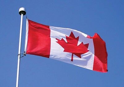 Flag Canada Maple Leaf Proud To Be Canadian 36 X 60 inches Cotton FREE SHIPPING