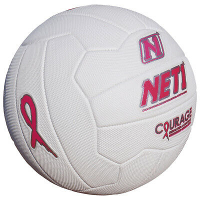NET1 Courage Netball Pink/Silver 5