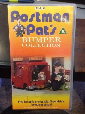 BBC - POSTMAN PAT'S BUMPER COLLECTION - Children's VHS Video Tape Not DVD