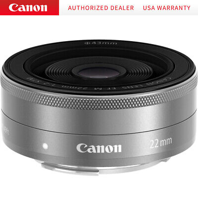 Canon EF-M22mm F2 STM (SL) Camera Lens
