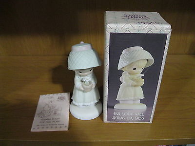 """1989 The Enesco 5"""" Precious Moments Collection His Love Will Shine On You"""
