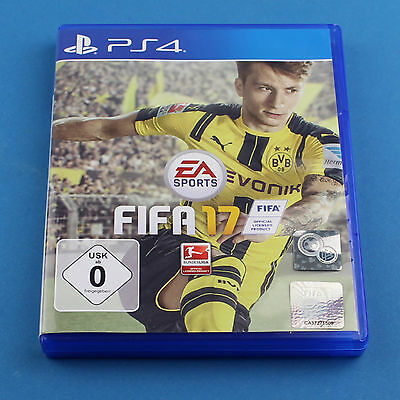 Sony PlayStation 4  / PS4  Spiel ► Fifa 17 ► Ovp ► Anleitung ► 4
