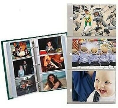 Pioneer Refill Pages for 3-Ring Photo Albums, holds 4x6- Inch Photos Pk of 5 Pgs