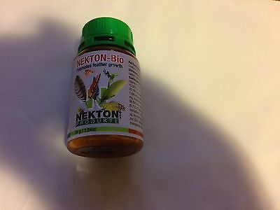 Nekton Bio Bird Powdered Vitamin Feather Grow 1.23 Oz. Free Ship To The Usa