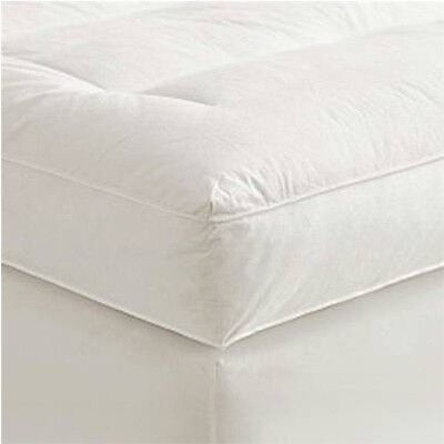 """4"""" Full Goose Down Mattress Topper Featherbed / Feather Bed Baffled"""