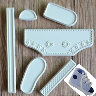 New Shoe Shape Decorating DIY Tool Fondant Cake Baby Sneaker Mold - SUN