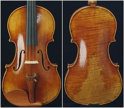 Collection-Maestro Guarneri 1743 Cannon 4/4 Violin #6728. Powerful tone