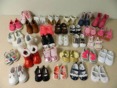 30 Pairs Baby Toddler Girl Large Shoe Lot Newborn Thru Size 4 Boots Sandals Shoe