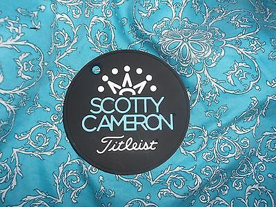 New Collectors Scotty Cameron Robins Egg Blue Cameron 7 Point Crown Putting Disc