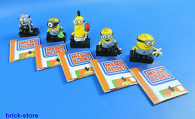 MEGA BLOCKS Minions SERIES 1 / 5 Minions the series 1