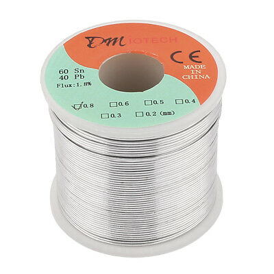 0.8mm 400G 60/40 Rosin Core Tin Lead Roll Soldering Solder Wire