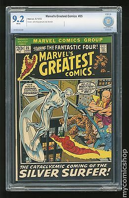 Marvel's Greatest Comics (1969) #35 CBCS 9.2