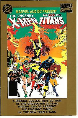 """Uncanny X-Men & New Teen Titans (1995) FN-FN/VF  """"Gold Collector's Edition"""""""