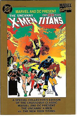 "Uncanny X-Men & New Teen Titian (1995) FN-FN/VF  ""Gold Collector's Edition"""