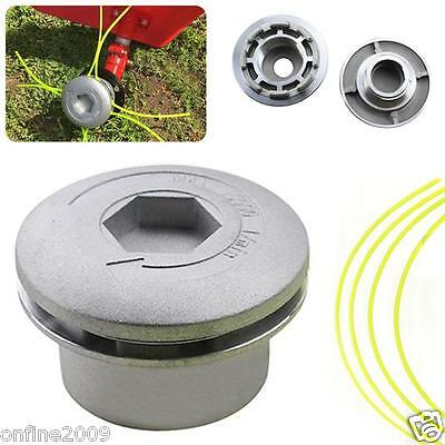Aluminum Linehead String Trimmer Head Spool Set For Gasoline Brushcutter Accs