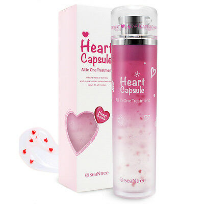 [SEANTREE] New Heart Capsule All In One Treatment 130ml / moisture + oil balance