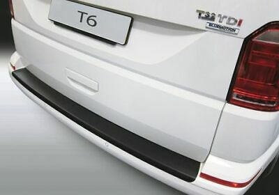 RGM Rear Bumper Guard Black For VW T6 Transporter Caravelle Kombi Multivan